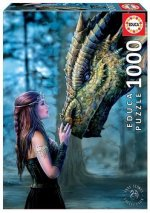 Educa Borras - Once Upon a Time, Anne Stokes 1000 piece Jigsaw Puzzle