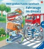 Mein großes Puzzle-Spielbuch: Fahrzeuge im Einsatz
