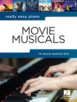 REALLY EASY PIANO MOVIE MUSICALS