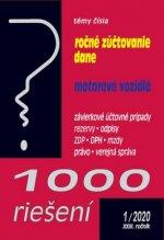 1000 riešení Ročné zúčtovanie dane, motorové vozidlá