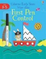 Early Years Wipe-clean First Pen Control