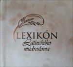 Lexikón latinského múdroslovia
