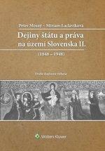 Dejiny štátu a práva na Slovensku II
