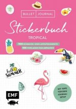 Bullet Journal - Stickerbuch Tropical: 850 Schmuck- und Layoutelemente