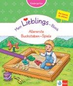 Mein Lieblings-Block Allererste Buchstaben-Spiele