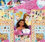 Samolepkový set 500 ks Disney Princezny