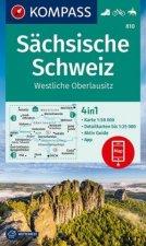 KV WK 810 Sächsische Schweiz 1:50 000