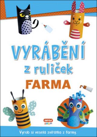 Vyrábění z ruliček Farma
