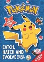 Pokemon: Catch, Hatch and Evolve Sticker Activity