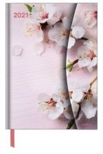 FLOWERS LARGE MAGNETO DIARY 2021