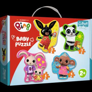 Baby puzzle Bing 4v1