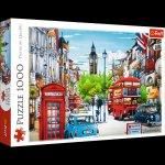 Puzzle Ulica Londynu 1000