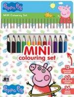 Mini blok s pastelkami Peppa Pig