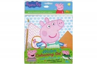 Vodové omalovánky se štětcem Peppa Pig