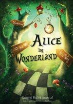 Alice in Wonderland Dotted Bullet Journal