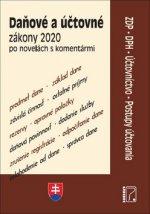 Daňové a účtovné zákony 2020 po  novelách s komentármi