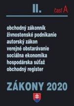 Zákony 2020 II. časť A