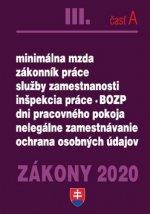 Zákony 2020 III. časť A