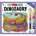 Mały artysta koloruje dinozaury + kredka segmentowa