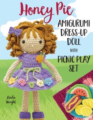 Honey Pie Amigurumi Dress-Up Doll with Picnic Play Set