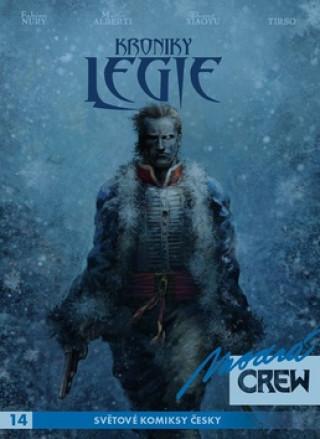 Modrá CREW 14 Kroniky Legie 3+4