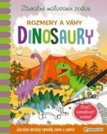 Zázračné maľovanie vodou Dinosaury