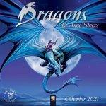 Dragons by Anne Stokes - Drachen von Anne Stokes 2021