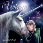 Unicorns by Anne Stokes - Einhörner von Anne Stokes 2021