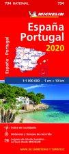 Mapa 734 España - Portugal 2020