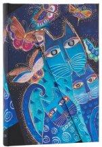 Diář Blue Cats & Butterflies 2021 VSO