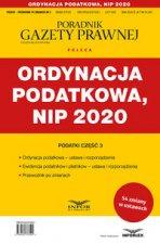 Ordynacja podatkowa NIP 2020