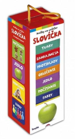 Knižky vo vežičke Slovíčka