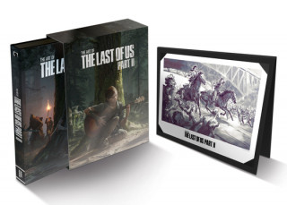 Art Of The Last Of Us Part Ii Deluxe Edition