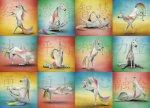 Unicorn Yoga 1000-Piece Puzzle