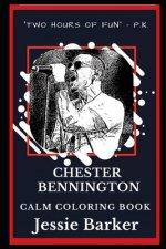 Chester Bennington Calm Coloring Book