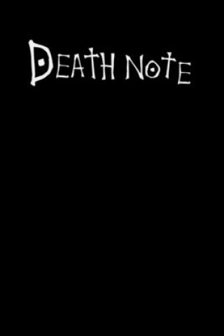 Death Note: 6x9 120 Page Wide Ruled Notebook