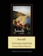 Amalfi: Vintage Poster Cross Stitch Pattern