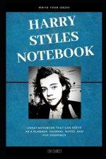 Harry Styles Notebook