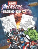 Marvel Avengers Coloring Book: Marvel Avengers Coloring Book With Super Cool Images For All Fans