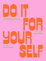 Do It For Yourself (Guided Journal)