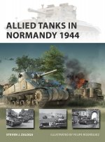 Allied Tanks in Normandy 1944