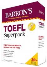 TOEFL Superpack: 3 Books + Practice Tests + Audio Online