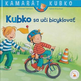 Kubko sa učí bicyklovať
