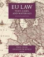 EU LAW TEXT CASES & MATERIALS 7E PAPERBA