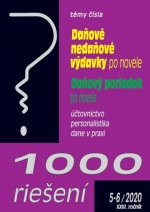 1000 riešení Daňové nedaňové výdavky po novele, Daňový poriadok po novele