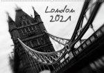 London (Wandkalender 2021 DIN A2 quer)