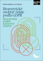 Biometrické osobné údaje podľa GDPR (biometrický podpis, kamerový systém)