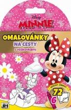 Omalovánky na cesty s voskovkami Minnie