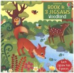 Book and 3 Jigsaws: Woodland