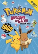 Pokemon Welcome to Galar 1001 Sticker Book